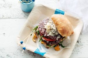 Burger met truffelmayonaise recept