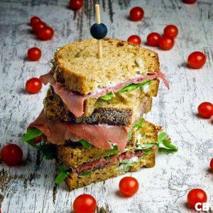 Recept: sandwich met truffelmayonaise